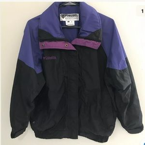 Vintage Columbia Windbreaker Womens Small
